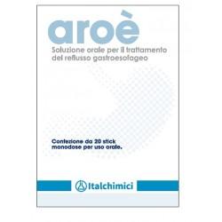 Italchimici Aroè soluzione orale per il reflusso gastroesofageo 20 stick monodose
