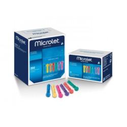 Ascensia Diabetes Care Microlet glicemia 25 lancette