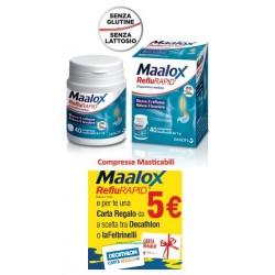 Maalox Reflurapid Promo Card 40 Compresse Masticabili 1 G