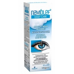 Visufarma Naviblef Daily Care Schiuma Secrezioni Oculari 50 Ml