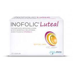 Lo. Li. Pharma Inofolic Luteal 20 Capsule Molli Integratore per Gravidanza