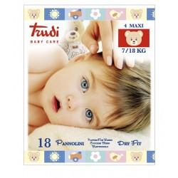 Silc Trudi Baby Care Dry Fit Maxi 7-18 Kg 18 Pannolini