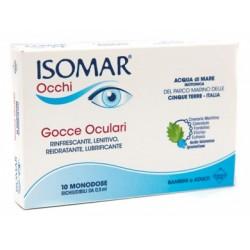 Euritalia Pharma Isomar Occhi Gocce Oculari All'acido Ialuronico 0,20% 10 Flaconcini
