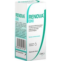 Doc Generici Renova Oxi Collirio Soluzione Oftalmica A Base Di Acido Ialuronico 0,2% Flacone Da 10 Ml