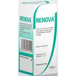 Doc Generici Renova Collirio Base Acido Ialuronico 0,4 % Flacone 10 Ml
