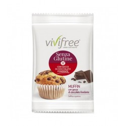 Vivifree Muffin Con Gocce Di Cioccolato Senza Glutine 45 G