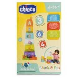 Chicco Gioco Torre Stack & Fun 12+