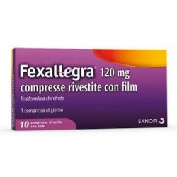 Sanofi Fexallegra 10 Compresse Rivestite 120 Mg Rinite Allergica
