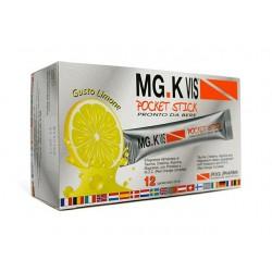 Pool Pharma Mgk Vis Pocket Stick Limone 12 Bustine Integratore Energetico