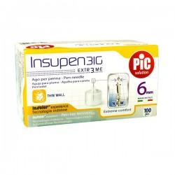 Pikdare Insupen Ago per Penna da Insulina 31G 6mm 100 Pezzi