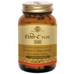 Solgar Ester C Plus 500 100 Capsule Integratore per Difese Immunitarie