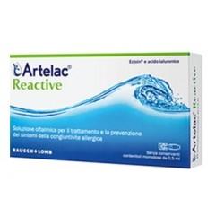 Bausch & Lomb Artelac Reactive Soluzione Oftalmica Monodose 10 Unità Da 0,5 ml