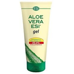 Esi Aloe Vera Gel con Vitamina E e Tea Tree Oil 99,9% 200 ml