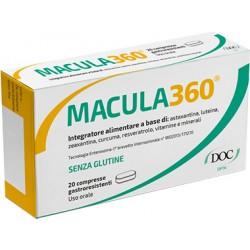Doc Generici Macula 360 integratore per occhi e vista 20 compresse