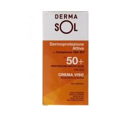 Dermasol Crema Viso Protezione Molto Alta 50+ 50 Ml