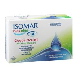 Euritalia Isomar Occhi Plus Gocce Oculari Per Occhi Secchi All'acido Ialuronico 0,25% 30 Flaconcini Monodose