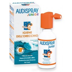 Diepharmex Audispray Junior igiene auricolare spray acqua di mare ipertonica