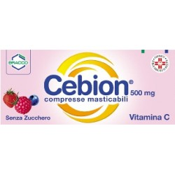 Dompe' Cebion 20 Compresse Masticabili Senza Zucchero