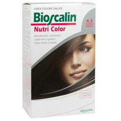 Bioscalin Nutri Color 4.3 Castano Dorato Sincrob 124 Ml