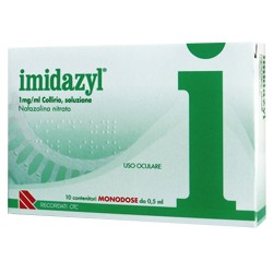 Recordati Imidazyl 1 mg/ml Collirio Monodose