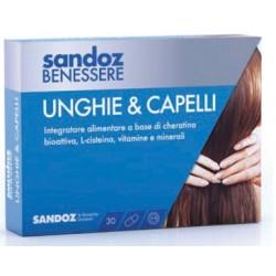 Sandoz Benessere Defense Unghie & Capelli 30 Capsule