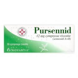 Glaxosmithkline C.Healt. Pursennid Lassativo 30 Compresse Rivestite 12 mg