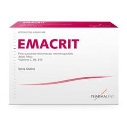Pharma line Emacrit 30 Bustine per Carenza di Ferro