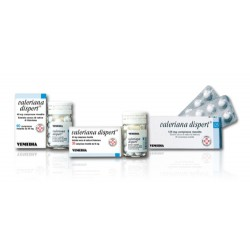 Vemedia Pharma Valeriana Dispert 125 mg Compresse Rivestite