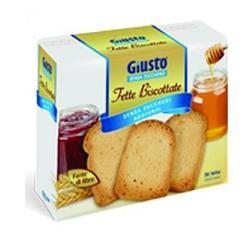 Giusto Senza Zucchero Fette Biscottate 300 G
