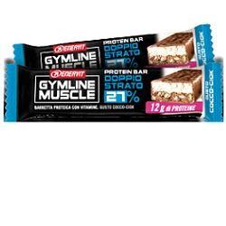 Enervit Gymline Muscle Protein Bar 27% Doppio Strato Cocco-ciok 1 Pezzo