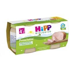 Hipp Bio Omogeneizzato Biologico al Prosciutto 2 vasetti da 80 g