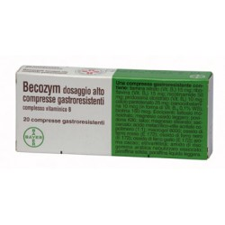 Bayer Becozym Dosaggio Alto Vitamina B 20 Compresse Gastroresistenti