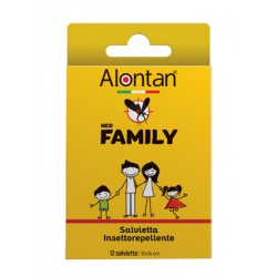 Alontan Neo Family Salviette 12 Pezzi Icaridina 10%