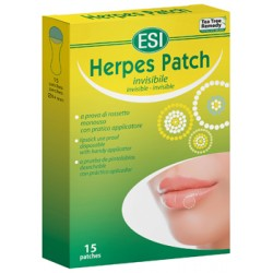 Esi Tea Tree Herpes Patch 15 Cerotti Monouso Trasparenti