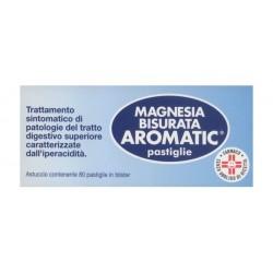 Pfizer Magnesia Bisurata Aromatic Antiacido 80 Pastiglie