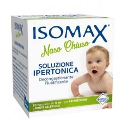 Soluzione Ipertonica Isomax Naso Chiuso Flaconcini