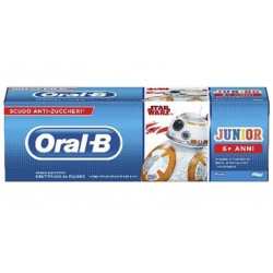 Oralb Dentifricio Junior Star Wars 6-12 Anni 75 Ml