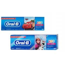 Oralb Man Cars&frozen Spazzolino Manuale 3-5 Anni 1 Pezzo