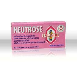 Sanofi Neutrose S.Pellegrino Antiacido 42 Compresse Masticabili