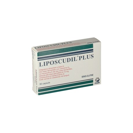 Piam Farmaceutici Liposcudil Plus 30 Capsule per Colesterolo