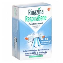 Glaxosmithkline C. Healt. Rinazina Respirabene 30 Cerottini Nasali Trasparenti