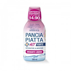 F&F Pancia Piatta Act Forte Drenante Liquido 500 ml