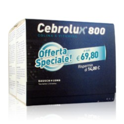 Cebrolux 800 Bi-pack 60 Bustine Integratore Antiossidante