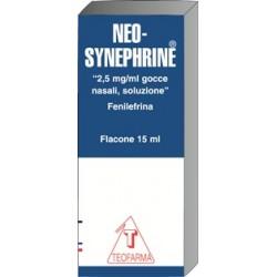 Teofarma Neo–Synephrine 2,5 mg/ml Gocce Nasali