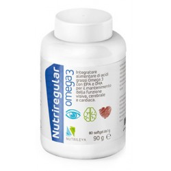 Mosaico Nutrileya Nutriregular Omega 3 80 Softgel