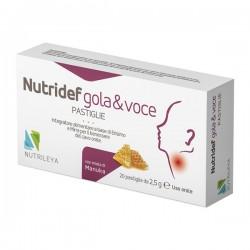 Nutrileya Mosaico Nutridef Gola & Voce Ara Ms 20 Pastiglie