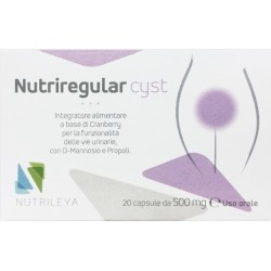 Nutriregular Cyst 20 Capsule 500 Mg