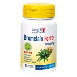 Longlife Bromelain Forte Integratore Anticellulite 30 Compresse