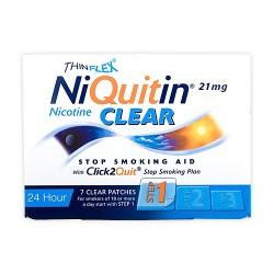 Niquitin Clear Cerotti contro il desiderio di fumare 21 mg 7 cerotti