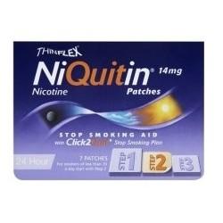 Perrigo NiQuitin per Astinenza da Nicotina 7 Cerotti